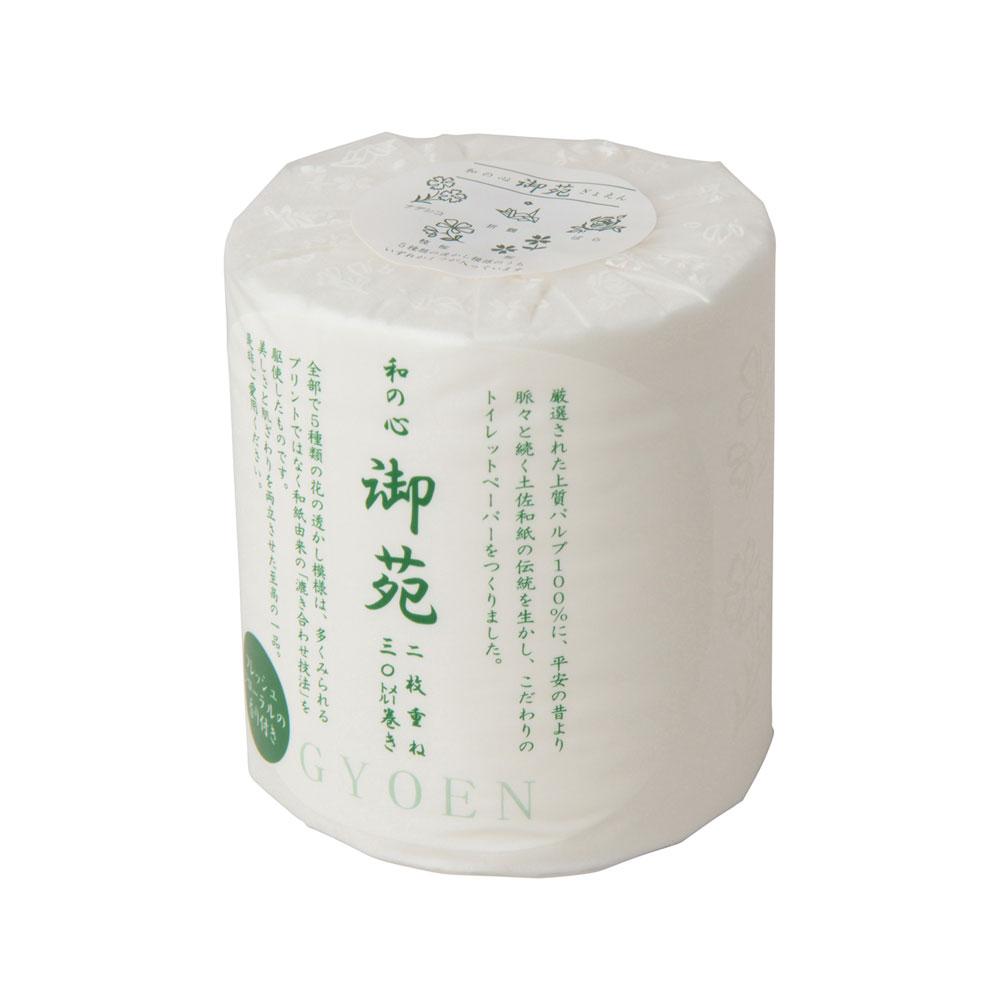 和の心 御苑(ぎょえん)トイレットペーパー 1ロール ダブル